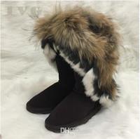 faux pelzart großhandel-frauen stiefel Australian Style designer stiefel