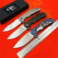 tactical survival knives venda por atacado-CH3504 faca Dobrável Titanium S35VN lâmina Flipper rolamento de esferas de Cerâmica Tactical hunt acampamento de sobrevivência Facas de sobrevivência EDC ferramentas