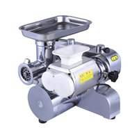 Wholesale electric slicer resale online - Fully Automatic Chopper Meat Grinder Full Stainless Steel Appliances Kitchen Electric Meat Slicer Meat grinder Desktop Type