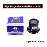 Wholesale watch eye loupe resale online - Portable X X Watch Jeweller Eye Magnifier Glass Lens Watchmakers Loupe Watch Repair Tools