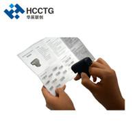 scan china venda por atacado-Alta Scan Pro Mini Laser 1D 2D Anel Bluetooth código de barras scanner para Coleta de Dados HS-S02