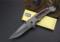 katlanır taktik katlanır bıçaklar toptan satış-Buck - DA109 hızlı açılma Taktik bıçak açık taktik katlama EDC av bıçağı kamp sağkalım taktik askeri bıçak savunma