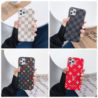 Wholesale iphone back case top for sale – best Top Designer For iPhone Pro Max XS XR X Plus Phone Case Back Cover Monogram Branding for Samsung Galaxy S9 S10 note Shell A002