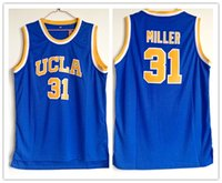 Wholesale ucla jersey resale online - custom made UCLA Bruins Reggie Miller man women youth basketball jerseys size S XL any name number
