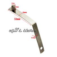 push-clips großhandel-50 teile / los 5,8x8mm Kajakpaddel Zeltstange Push Solid Button Frühling Snap Clips Locking Rohr Einzelnen Pin