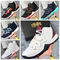 basketbol brazilu toptan satış-2019 Yüksek kalite Ucuz 5 PE Taco Kavramları x Ikhet Brezilya Neon Karışımları Siyah Sihirli Erkek Basketbol Ayakkabıları için 5 s Spor Sneakers Size7-12