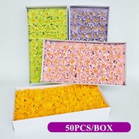 Wholesale asters flowers for sale - Group buy 50Pcs Set Artificial Flowers Asters Soap Flower Head Romantic Wedding Valentine s Gift Wedding Banquet Home Decoration