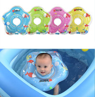 1pcs Swiming Pool Baby Accessories Swim Ring Baby Inflatable Float Ring Safety Infant Baby Neck Float Circle Bathing Accesorios