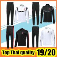 Wholesale italy soccer tracksuit resale online - 2019 KHEDIRA soccer jersey jacket tracksuit Survetement Italy jacket sportswear