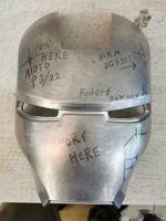 ojos de hombre de hierro al por mayor-Disfraces para hombres Máscaras metal iron man MKII Helmet Eye Mask