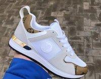 tasarımcı dantel ayakkabıları toptan satış-Sıcak Lüks Popüler Deri Rahat Ayakkabılar Kadın Erkek Tasarımcı Sneakers Ayakkabı Moda Deri Lace Up Ayakkabı Karışık Renk