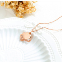 Wholesale gift christmas jewellery resale online - Fashion Women Charm Heart Chokers Necklaces Gold Silver Color Chains Jewellery Crystal Rhinestone Design Love Pendant Necklaces for Women