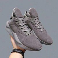 zapatos de goma transpirable para hombre al por mayor-2019 HOT Brand Men Fabric Stretch Jersey Sneaker Designer Lady Two-tone Rubber Micro Sole transpirable zapatos casuales fd181102
