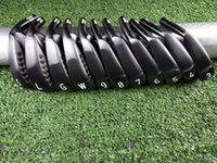 Wholesale golf clubs for sale - Group buy 2019 New Golf Club XF GEN Black Iron picec Suits White Paint With Head Cover Free Delivery