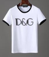 ingrosso sottogonne 3xl-Top T di alta qualità lettere di stampa Design Tee Fashion T-shirt di moda per uomo Womens g cotone Womans maglietta casual magliette abbigliamento