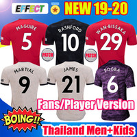 Wholesale kids soccer jersey thailand for sale - Group buy Top Thailand MAGUIRE RASHFORD manchester soccer jerseys utd JAMES football kit MARTIAL united Player Version shirt kids sets