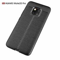neue design telefon zubehör großhandel-Neues Design-Telefonzubehör weiche TPU-Dermatoglyphe Robuste Handyhüllen für Huawei Mate 20 Pro-Cover