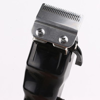 Wholesale hair cut clips resale online - Magic Clip Hair Clipper Portable Cordless Black Gold Hair Trimmer Cutting Machine Professional Cutter Styling Tools Electric For Men