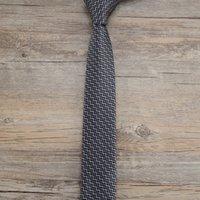 узкие серые галстуки оптовых-2019 года высококачественный дизайнер внешней торговли горячий новый мужской шелковый личный костюм портной галстук бизнес узкий галстук