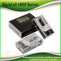 ingrosso batteria ricaricabile ad alta capacità-Originale BlackCell IMR 18650 3100mAh 40A litio ricaricabile 3.7V Vape Flat Top elevate quantità di energia 18650 IMR18650 Box Mod 100% autentico