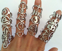 рыночная мода оптовых-Оптовая 25 Шт. Смешать 316L стиль кольца из нержавеющей стали мода кросс-полоса байкер ювелирные изделия кольцо для мужчин, женщин, блошиный рынок