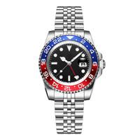 последние часы из стали оптовых-Последние мужские модные дизайнерские часы досуга Batman GTM из нержавеющей стали механические автоматические водонепроницаемые высококачественные часы оптом