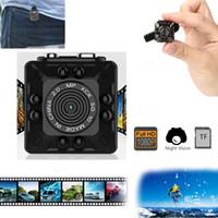 mp cmos kamerasensor großhandel-SQ10 PK SQ8 SQ9 SQ11 SQ12 Mini Kamera Full HD 1080P Micro Kamera IR Nachtsicht DV Kamera Bewegungssensor DVR Camcorder Mini Audio Recorder