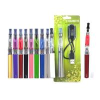 elektronische zigaretteneinstellung großhandel-CE4 eGo Blister Pack Set CE4 Zerstäuber 1.6ml 2.4ohm CE4 Clearomizer 650mAh 900mAh 1100mAh Elektronische Zigarette bunt Batterie Ego Kit DHL