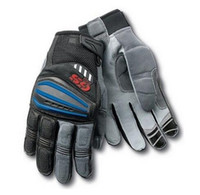 Wholesale waterproof gloves for motorcycle for sale - Group buy 2019 Motorcycle Motorrad Rally Black Red Leather Gloves for BMW GS1200 GS Cycling Gloves