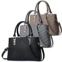 büyük hobo deri çanta toptan satış-Tasarımcı çanta Kadınlar Çanta Hobo Omuz Çantaları Bez PU Deri Çanta Moda Büyük Kapasiteli Çanta tasarımcısı crossbody çantası
