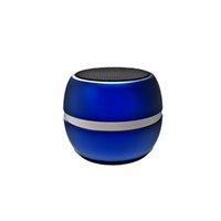 ingrosso portatile mobile-Mini MD06 Altoparlante Bluetooth Metallo Drum 3D Surround Altoparlante senza fili LED Dazzle Color Subwoof regalo portatile per portatile iPhone Samsung