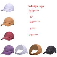 Wholesale sun hat for sale - Adult Ponytail hat Half Empty Top Baseball Cap Women men Summer Beach Sun Hats Sports Caps Hole Baseball hat LJJK1510