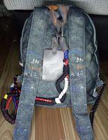 sacs à dos rose clair achat en gros de-2019 Graffiti Speedy Bag célèbre marque sacs à dos designer mode femmes dame noir rouge sac à dos charmes sac à dos Style