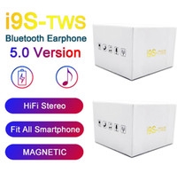 Wholesale stereo phones online – I9S Tws Earphone Headphone Stereo TWS Earbuds for all Phone With Charging Box Wireless Bluetooth Headphone hot sale