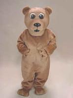 ingrosso avvolgere la pubblicità-Vestito operato dal partito di carnevale del vestito dell'attrezzatura di Mascotte Mascota dell'attrezzatura del partito della mascotte del costume della mascotte dell'orso di Brown