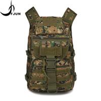 камуфляжный наружный рюкзак оптовых-Oxford Waterproof Outdoor Sport  Tactical Backpack Climbing Mountaineering Camouflage Rucksack Travel Bag DG54