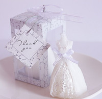 düğün davetlisi mumlar toptan satış-Romantik Düğün Gelin Mum Zanaat Mum Yaratıcı Düğün Malzemeleri Konuklar Için Avrupa Düğün Pratik Hediye