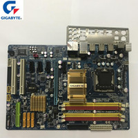 ursprüngliches ipad 16gb großhandel-Gigabyt GA-EP43-DS3L 100% Original Motherboard LGA 775 DDR2 Desktop-Computer Mainboard 16 GB EP43-DS3L EP43 DS3L Boards P43 Gebraucht