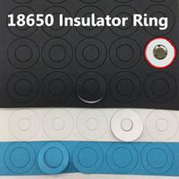 ringisolator großhandel-18650 Batterie-Anodenisolationsdichtung Isolatorring für 18650 Li-Ion-Batterie-Anoden-Hohlpunkt-Isolatordichtung