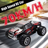 remoto caminhão do carro venda por atacado-RC Car WLtoys A979 1/18 4WD Racing Car Remote Control Off Road Race Car 2.4GHz Radio Remote controlada de alta velocidade Truck Buggy Y200317
