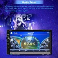 driver mp3 venda por atacado-7 '' hd bluetooth estéreo de tela de toque do carro gps estéreo de rádio 2 din fm / mp5 / mp3 / usb / aux md5 vedio mp5 para o driver de música leitor de carro dvr