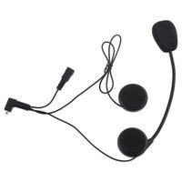 fone de ouvido de moto venda por atacado-Capacete de Moto Interfone Headset Intercom Resistente À Água com DPS Echo Cancelamento Tecnologia T-COM02S Motocicleta Frete Grátis