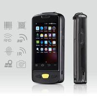 лазерный андроид оптовых-Дешевый портативный Android беспроводной терминал данных высокого качества 1D лазерный / CCD сканер штрих-кода