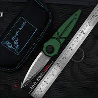 Wholesale fruit ball tool for sale - Group buy magicknife D2 blade ball bearing T6 handle flip folding camping hunting pocket fruit knife EDC tool