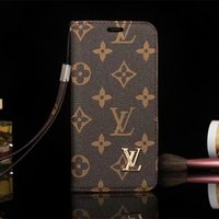 carteira samsung s venda por atacado-Para iphone x xs xr xs max 6 6 s 7 8 8 plus luxo carteira phone case para galaxy s9 s9plus s8plus s7edge note9 note8 capa de couro case