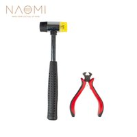 Wholesale new taps for sale - Group buy NAOMI Guitar String Cutter Double Face Soft Tap Rubber Hammer Muscial Instrument Tool High Quality New