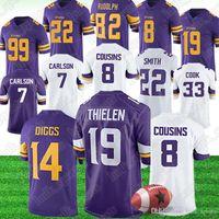 Wholesale 21 american football resale online - Minnesota Adam Thielen Vikings jerseys Stefon Diggs Mike Hughes jerseys Dalvin Cook Harrison Smith american football jerseys