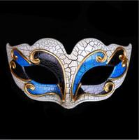 masque de matériau achat en gros de-NON. 8 demi-visage matériau PVC Maskor festival / Nouvel An Halloween cosplay costume 3 couleur mini-totale livraison gratuite pour masque de bal
