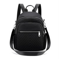 Wholesale stylish backpacks for ladies resale online - YILUNXI Urban trend women s one shoulder bag Stylish simple female backpacks Large capacity small backpack for traveling ladies
