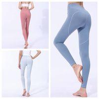 Wholesale women yoga pants for sale - Women Skinny Leggings Heart Shaped Sports Gym Yoga Pants High Waist Workout Tight Ninth Yoga Leggings OOA6331